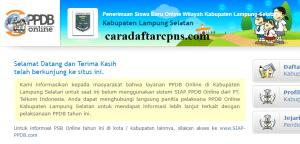 PPDB SMP Kabupaten Lampung Selatan