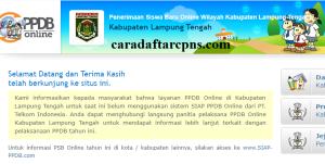 Jadwal Pendaftaran PPDB SMP Kab Lampung Tengah 2020 2021