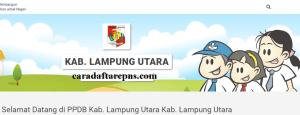 PPDB SMP Kabupaten Lampung Utara