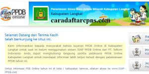 PPDB SMP Kabupaten Langkat