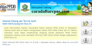 PPDB SMP Kabupaten Lebong