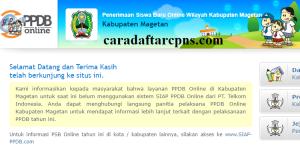 PPDB SMP Kabupaten Magetan