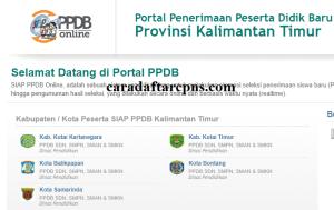 Pendaftaran Online PPDB SMP Kabupaten Mahakam Ulu