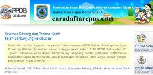 Jadwal PPDB SMA SMK Negeri Kab OKU 2020 2021