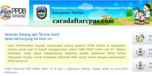 PPDB SMP Kabupaten Pacitan