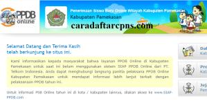 Jadwal PPDB SMA SMK Negeri Kab Pamekasan 2020 2021
