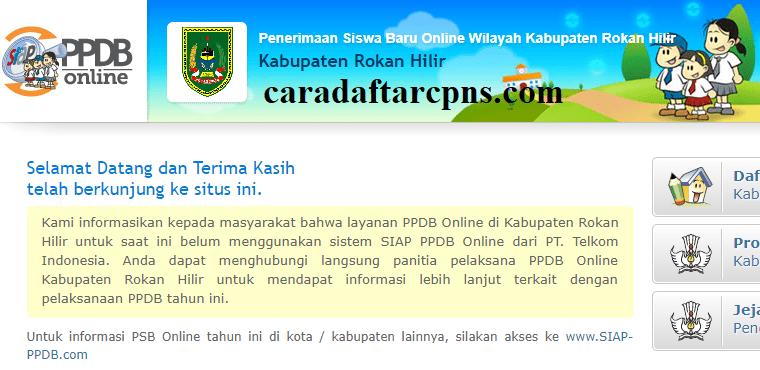 Ppdb Smp Kabupaten Rokan Hilir Syarat Dan Jadwal Pendaftaran Smp