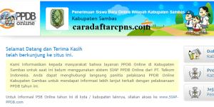 PPDB SMP Kabupaten Sambas