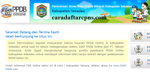 PPDB SMP Kabupaten Sekadau