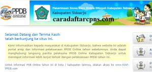 Jadwal PPDB SMA SMK Negeri Kab Sidoarjo 2020 2021