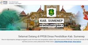 Jadwal PPDB SMA SMK Negeri Kab Sumenep 2020 2021