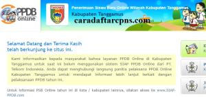 Jadwal PPDB SMA SMK Negeri Kab Tanggamus 2020 2021