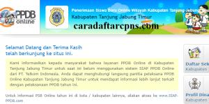 PPDB SMP Kabupaten Tanjung Jabung Timur