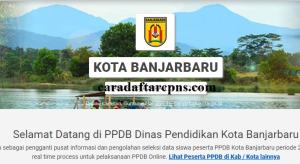 Jadwal Pendaftaran PPDB SMA SMK Negeri Banjarbaru 2020/2021