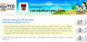 PPDB SMP Kota Padang