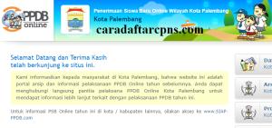 PPDB SMP Kota Palembang