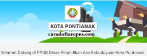 PPDB SMP Kota Pontianak