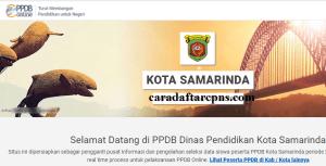 Pendaftaran Online PPDB SMP Kota Samarinda