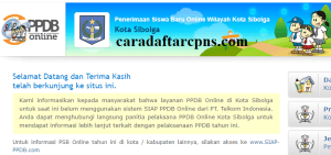 PPDB SMP Kota Sibolga