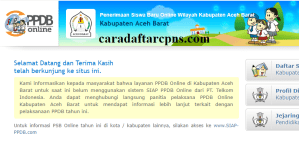 Jadwal dan Syarat PPDB SMP Kabupaten Aceh Barat