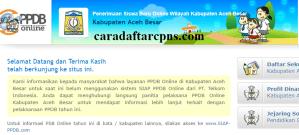 Jadwal dan Syarat PPDB SMP Kabupaten Aceh Besar