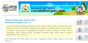 Jadwal PPDB SMP Kabupaten Aceh Tamiang