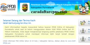 PPDB SMP Kabupaten Purwakarta