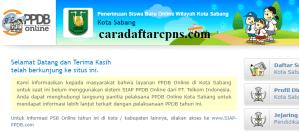 Jadwal Pendaftaran PPDB SMA 2020 2021 Kota Sabang