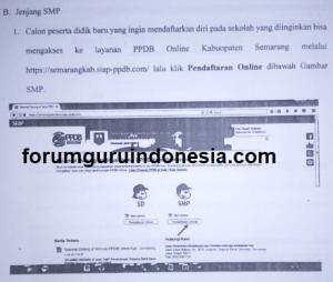 PPDB SMP Kabupaten Semarang