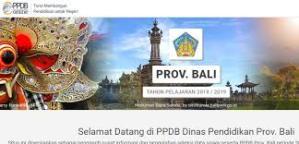Pengumuman Hasil Seleksi PPDB SMA SMK Negeri Provinsi Bali 2020/2021