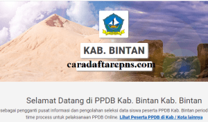 PPDB SMP Kabupaten Bintan