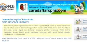 Jadwal PPDB SMA SMK Negeri Kab Boven Digoel 2020 2021