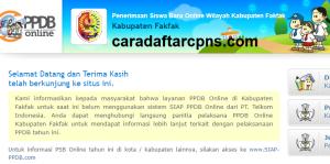 PPDB SMP Kabupaten Fakfak