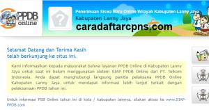 PPDB SMP Kabupaten Lanny Jaya