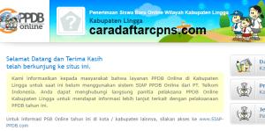 PPDB SMP Kabupaten Lingga