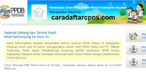 Jadwal PPDB SMA SMK Negeri Kab Maybrat 2020 2021