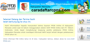 PPDB SMP Kabupaten Merauke