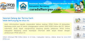 Jadwal PPDB SMA SMK Negeri Kab Bantaeng 2020 2021