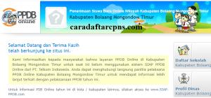 PPDB SMP Kabupaten Bolaang Mongondow Timur