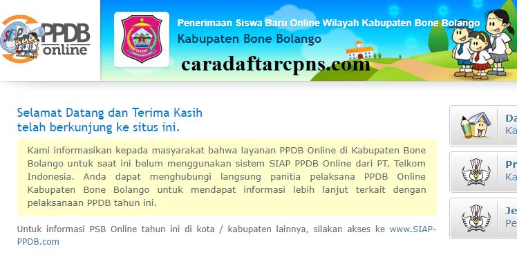 Pendaftaran Ppdb Online Sma Kabupaten Bone Bolango 2019 2020