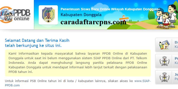 Jadwal Ppdb Sma Smk Negeri Kab Donggala 2020 2021