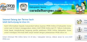 PPDB SMP Kabupaten Gowa