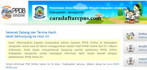 Jadwal PPDB SMA SMK Negeri Kab Jeneponto 2020 2021