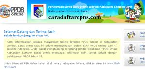 PPDB SMP Kabupaten Lombok Barat