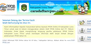 PPDB SMP Kabupaten Luwu Timur