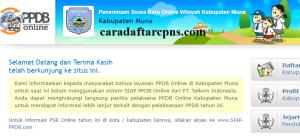 PPDB SMP Kabupaten Muna