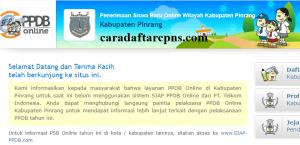 Jadwal PPDB SMA SMK Negeri Kab Pinrang 2020 2021