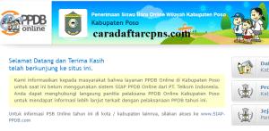 Jadwal PPDB SMA SMK Negeri Kab Poso 2020 2021
