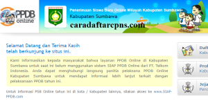 Jadwal PPDB SMA SMK Negeri Kab Sumbawa 2020 2021