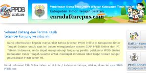 PPDB SMP Kabupaten Timor Tengah Selatan